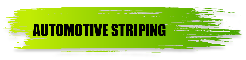 Automotive Striping - A World of Signs