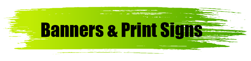 Banners & Print Signs - A World of Signs
