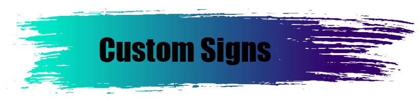 Custom Signs - A World of Signs