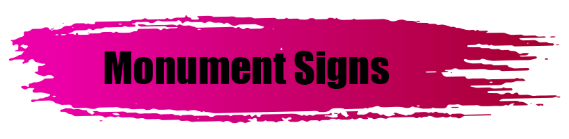 Monument Signs - A World of Signs