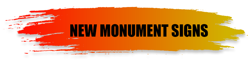 New Monument Signs - A World of Signs