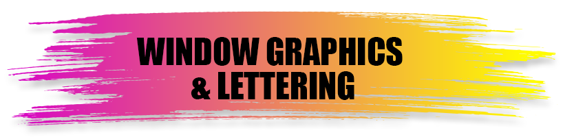 Windows Graphics & Lettering - A World of Signs
